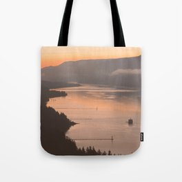 Pacific Northwest Sunrise - nature photography Tote Bag