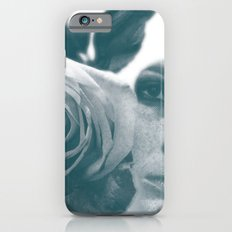Woman with a rose iPhone 6s Slim Case