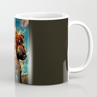 samus Mugs featuring Samus  by ururuty