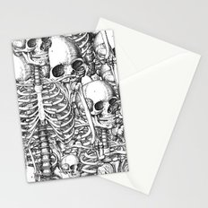 Skeleton Mess Stationery Cards