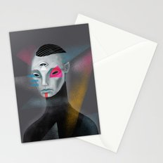 Galactic self portrait Stationery Cards