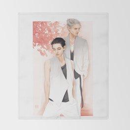Moments: Victuuri Throw Blanket
