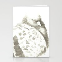 pigeon Stationery Cards featuring Pigeon by Goran Medjugorac
