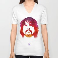 dave grohl V-neck T-shirts featuring D. Grohl by Fimbis
