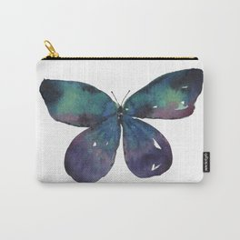 Jewel Butterflies Watercolor Carry-All Pouch