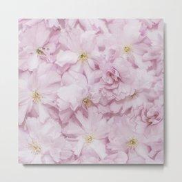 Sakura- Cherry Blossom pattern Metal Print