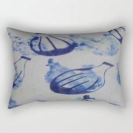 Passionfruit in Repeat biro Rectangular Pillow