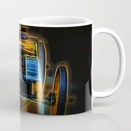 Fractal Car Neon Light Coffee Mug