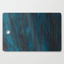 aqua agua mit rouge Cutting Board