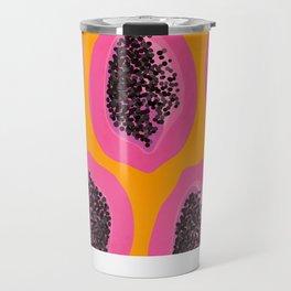 Pink Papaya Travel Mug