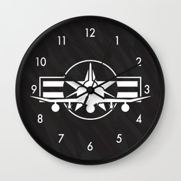 F-4 Phantom II Military Fighter Jet Airplane Wall Clock