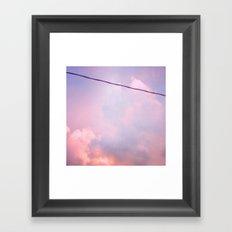 Sunset Clouds (II) Framed Art Print