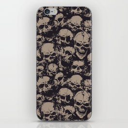 Skulls Seamless iPhone Skin