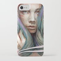 oil iPhone & iPod Cases featuring Onawa by Michael Shapcott