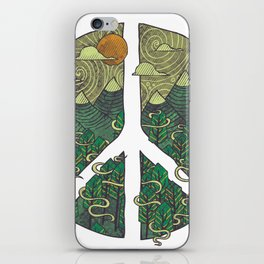 Peaceful Landscape iPhone Skin