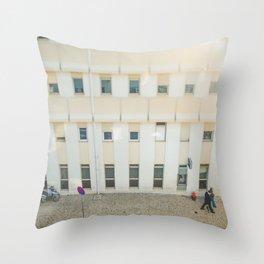 Morning in Lisboa Throw Pillow