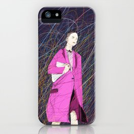 Runway Lady iPhone Case
