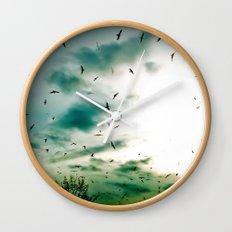 Descendants of Icarus Wall Clock