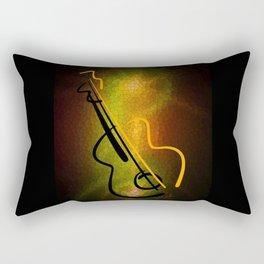 Guitar M-o-L Rectangular Pillow