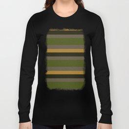 Cactus Garden Stripes 4H Long Sleeve T-shirt