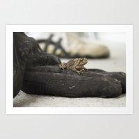 Amphibian Art Print