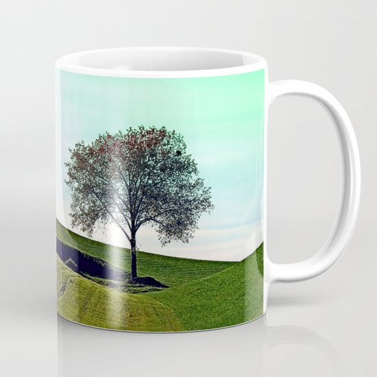 Lonely tree in the middle of nowhere | landscape photography Coffee Mug