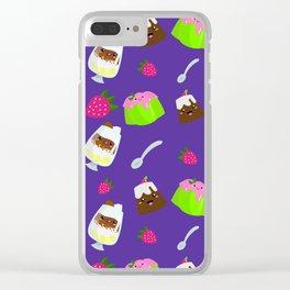 Just Desserts Clear iPhone Case