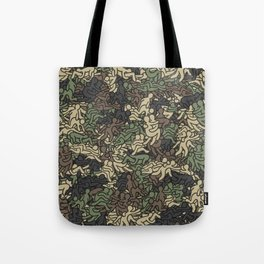 Sex positionns camouflage Tote Bag