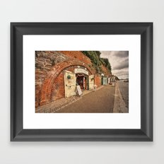 Exeter under the Arches Framed Art Print