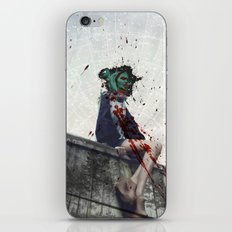 Bundenko street art iPhone & iPod Skin