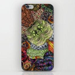 Psychedelic Botanical 10 iPhone Skin