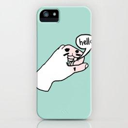 "Talking Hands ""Hello"" iPhone Case"