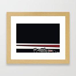 Camo bull Framed Art Print