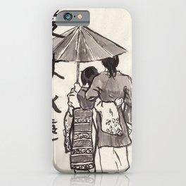 Kasa (Umbrella) iPhone Case