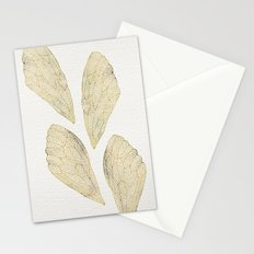 Cicada Wings in Gold Stationery Cards