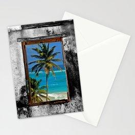 WINDOW ON PARADISE Stationery Cards