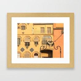 OrangeLife Framed Art Print