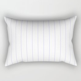 Blue Pinstripes Rectangular Pillow