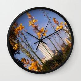 Old Austin Skyline Wall Clock