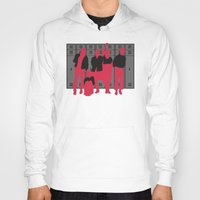 breakfast club Hoodies featuring The Breakfast Club by FilmsQuiz
