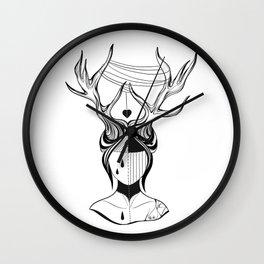 Doll's Love Wall Clock