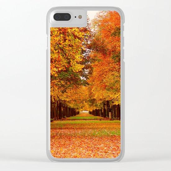 Autumn 40 Clear iPhone Case