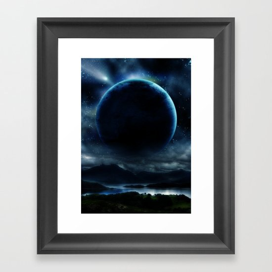 Anabasis Framed Art Print