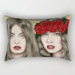 The eyes are the mirror of the soul Rectangular Pillow