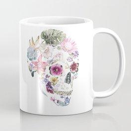 Hibiscus Skull Coffee Mug