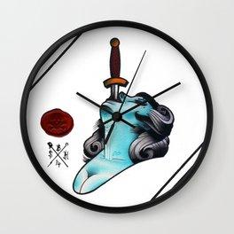 Sword Swallower Wall Clock