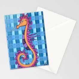 hippocampe 2x Stationery Cards
