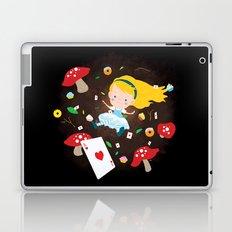 Alice Falling Down the Rabbit Hole Laptop & iPad Skin