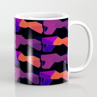 lions Mugs featuring LIONS by lucborell