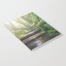Green Jungle Forest Path Notebook